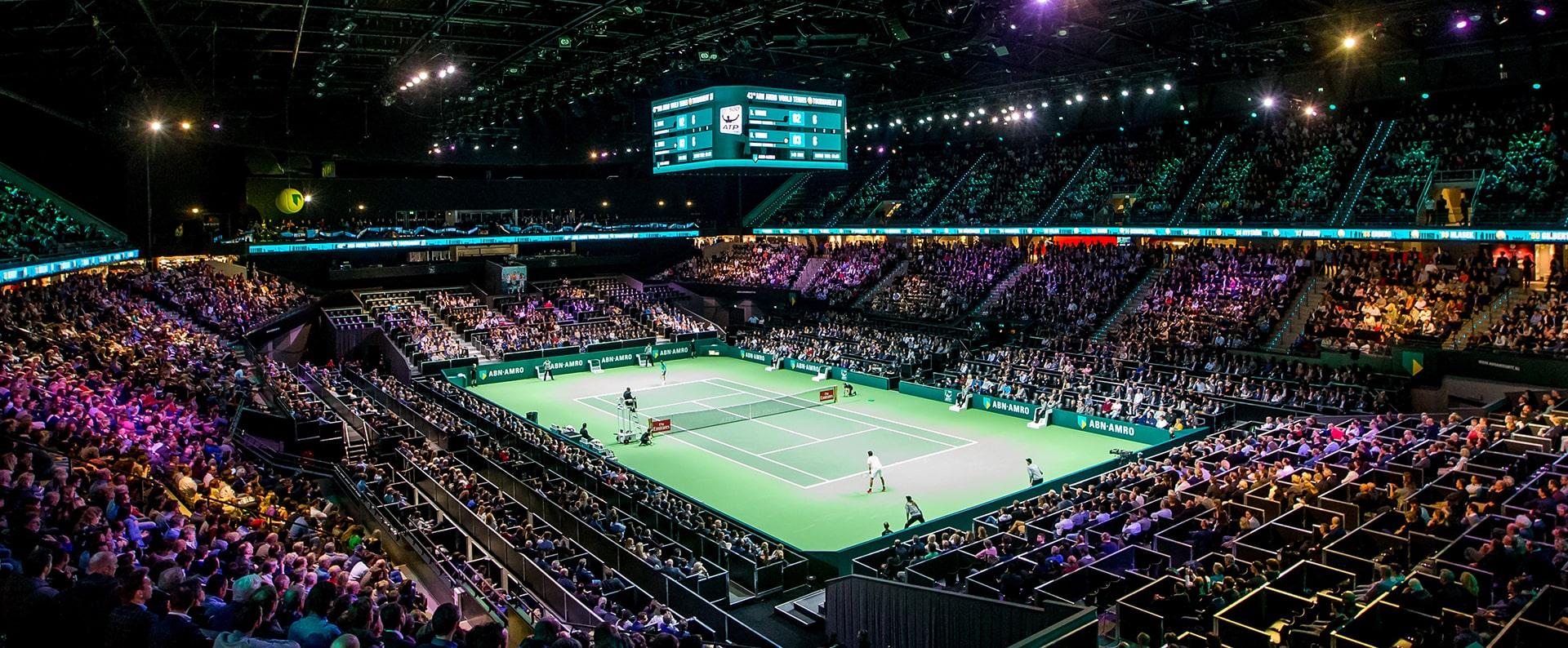 ABN AMRO Tennis toernooi Ahoy Rotterdam